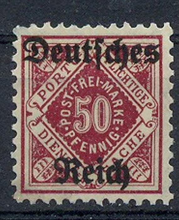 1920, MiNr. 56 ** Zustand: I-II, (H)