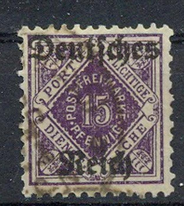 1920, MiNr. 54 gest. Zustand: I-II, (H)