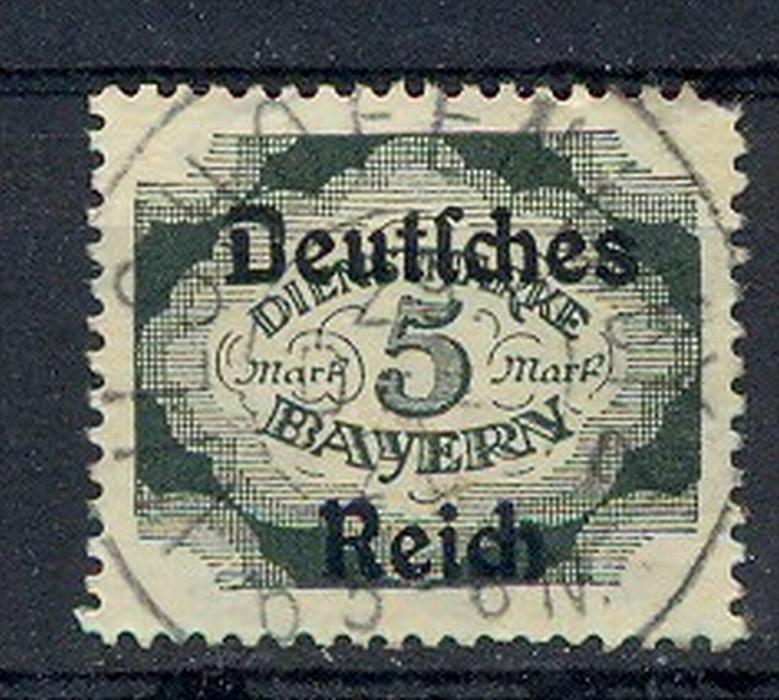 1920, MiNr. 51 Gest.  Zustand: I-II, (H)