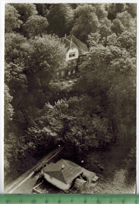 Villa Fernsicht, Raisdorf bei Kiel Verlag: Hamburger Aero-Lloyd GmbH, Postkarte mit Frankatur, mit Stempel, KIEL 17.6.62