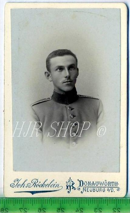 Joh. Röckelein, Donauwörth vor 1900 kl. Format, s/w., I-II,