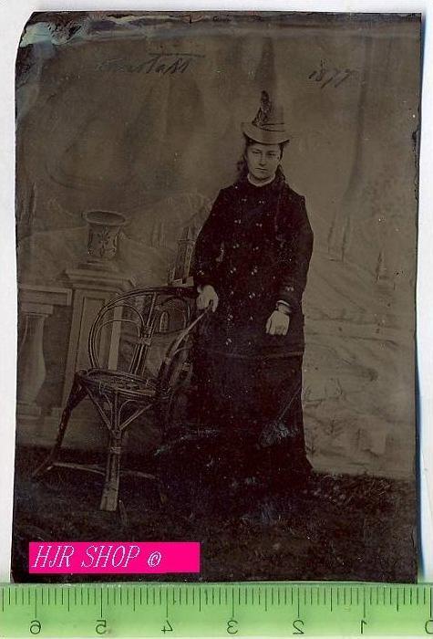 1 x Daguerreotypien auf Kupferplatte Gez. Carrstatt 1877