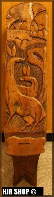 Stuhl, Afrika,geschnitzt