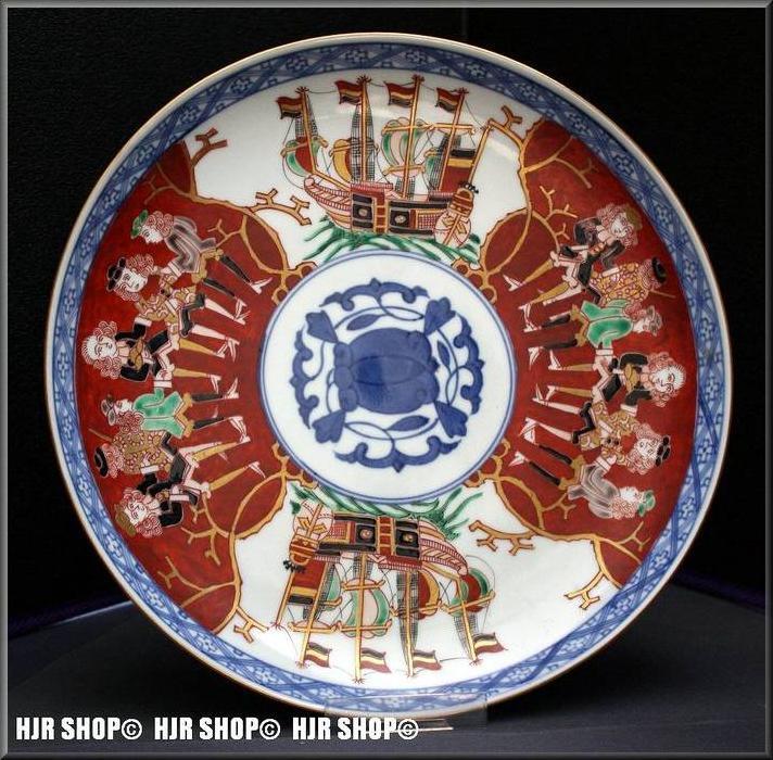 CHINA, Porzellanteller, mit europäischen Darstellungen um 1900