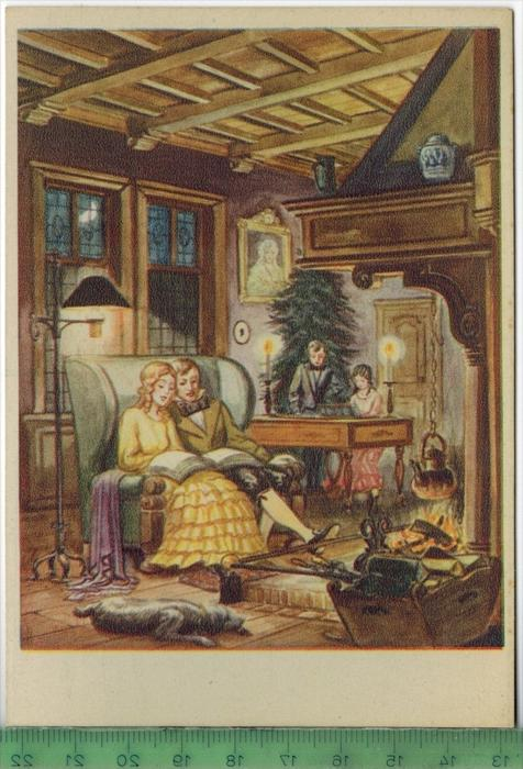 Alte niederländische Weihnachtskarte Verlag:, POSTKARTE Erhaltung: I ...