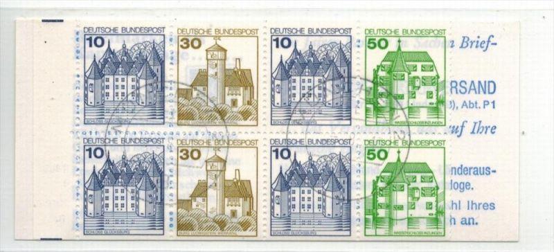 1980 Burgen und Schlösser, H-Bl. MiNr.27 I Gest.  Zustand: I-II