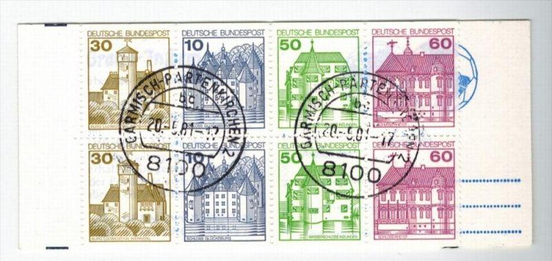 1980  Burgen und Shlösser, Minr. H-Bl. 28 Gest. Zustand: I-II