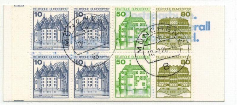 1982 Burgen und Shlösser, Minr. H-Bl. 29Gest. Zustand: I-II