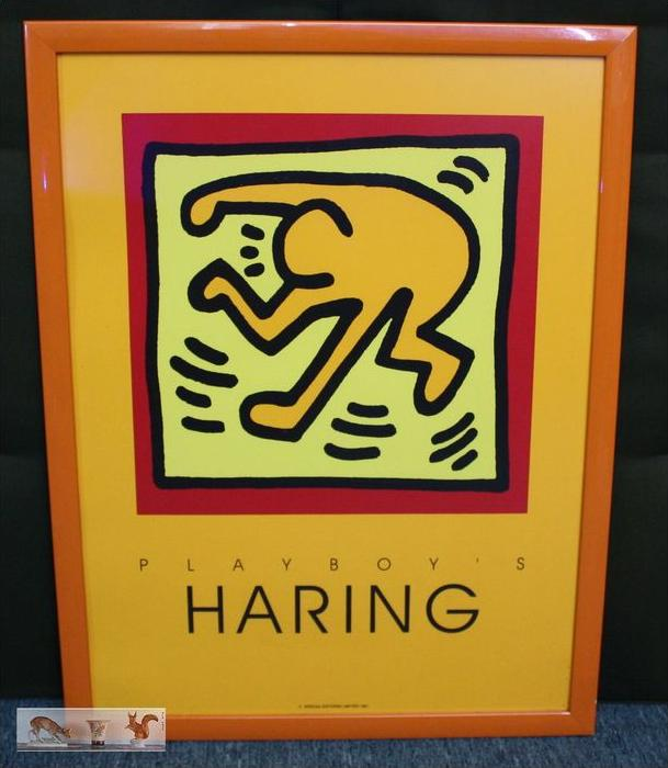 Keith HaringPlayboy´s, HARINGSPECIAL EDITIONS LIMITED 1991gerahmt 65 x 50 cmZustand: Gut Wir haben ständig altes C