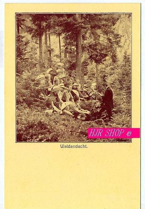 Postkarte Pfadfinder, ungel.