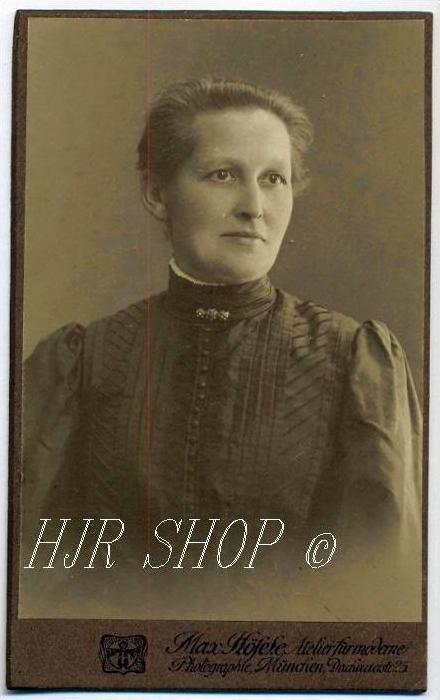 Max Höfele, München vor 1900 kl. Format, s/w., I-II,