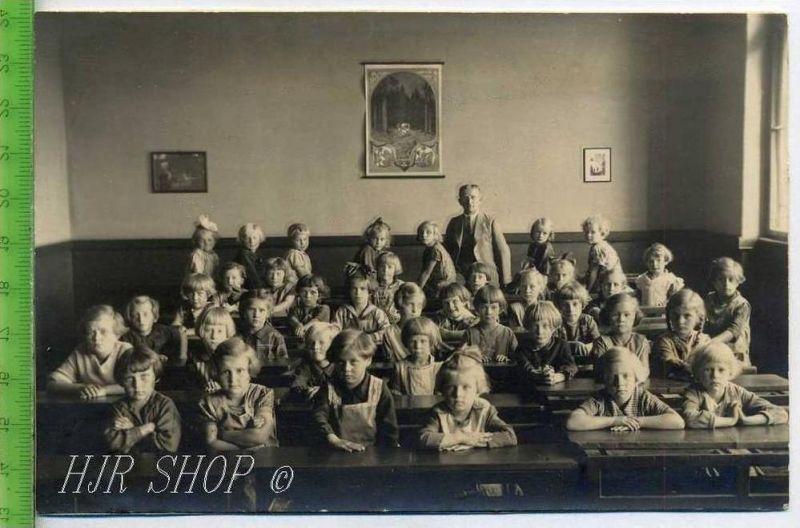 Mädchenklasse vor 1900 Gr.. Format, s/w., I-II,