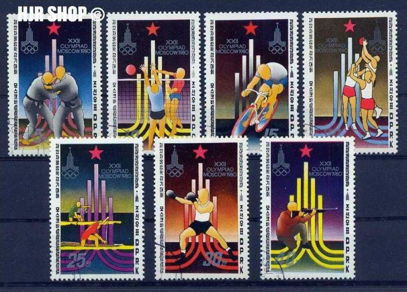 1980, 7 x Olympia-Moskau, Korea gest.