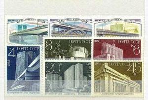Sowjetunion 1983, Satz 5 W,  5338-42** Sowjetunion 1980, satz 3 W,  5023-25**