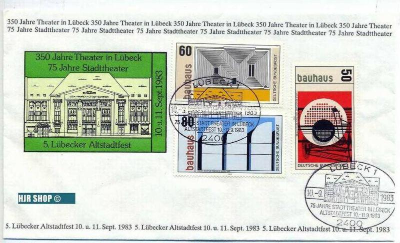 FDC, 5. Lübecker Altstadtfest 10. u. 11. Sept. 1983, Sonderst. Lübeck