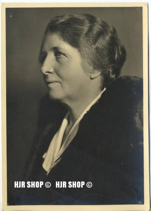 Frau DR. Mathilde Ludendorff, 4. Oktober 1877 in Wiesbaden; † 24. Juni 1966 in Tutzing.