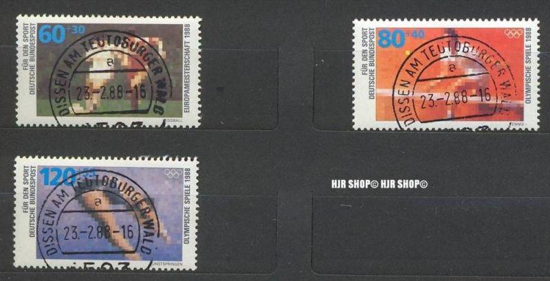 1988, Sporthilfe, 1353-1355 gest. Satz 3 W