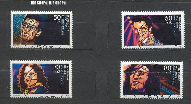 1988, Jugend, MiNr. 1360-1363 gest. Satz 4 W