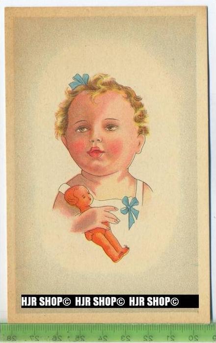 """""""Kleinkind"""" um 1940/1950, Ansichtskarte, ungebrauchte Karte"""