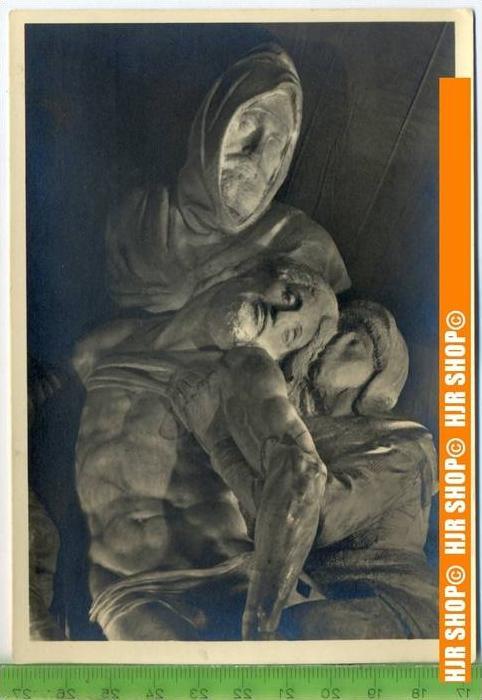 """""""Michelangelo, Kreuzabnahme"""", um 1950/1960  Ansichtskarte  ungebrauchte Karte"""