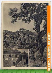 """""""Michelangelo, Geburtshaus"""", um 1950/1960  Ansichtskarte  ungebrauchte Karte"""