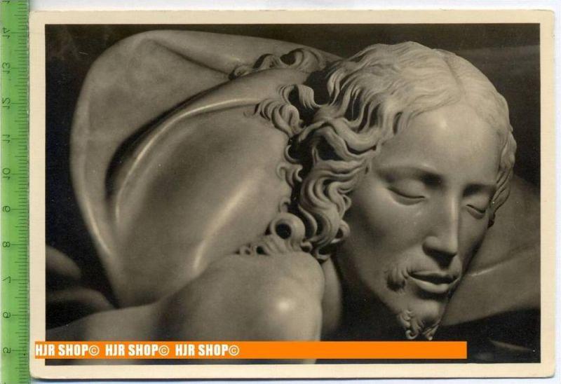 """""""Michelangelo, Pietà"""", um 1950/1960  Ansichtskarte  ungebrauchte Karte"""