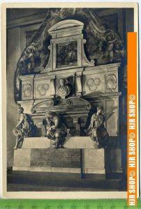 """""""Michelangelo, sein Grabmal"""", um 1950/1960  Ansichtskarte  ungebrauchte Karte"""