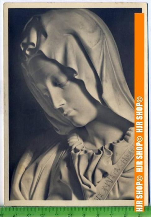 """""""Michelangelo, Madonna"""", um 1950/1960  Ansichtskarte  ungebrauchte Karte"""