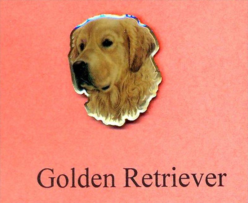 Hunde – Pins GOLDEN - RETRIEVER Maße: Höhe ca. 2,5 cm Zustand: Neu