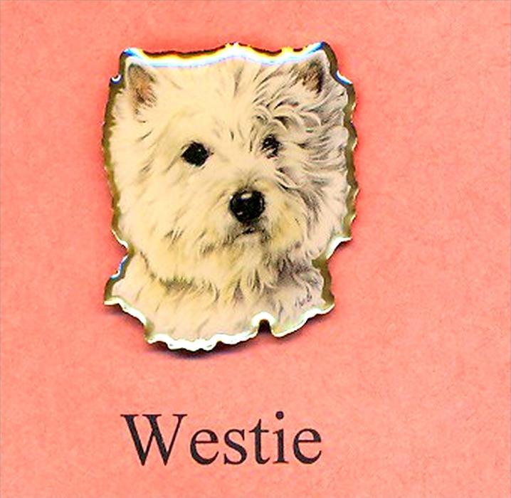 Hunde – Pins WESTIE Maße: Höhe ca. 2,5 cm Zustand: Neu