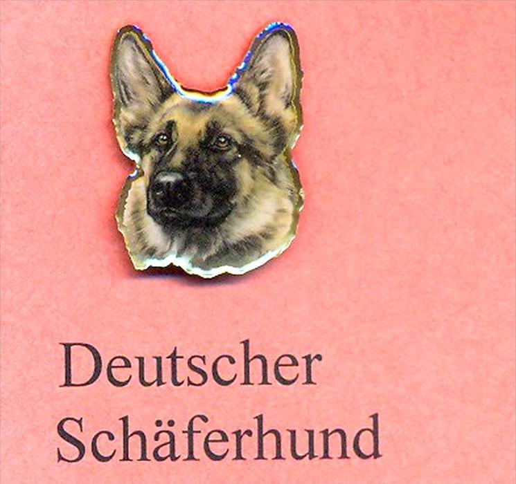 Hunde – Pins DEUTSCHER SCHÄFERHUND Maße: Höhe ca. 2,5 cm Zustand: Neu