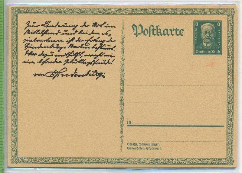 Sonderpostkarte, 1927 MiNr. P 207 Zustand: I-II