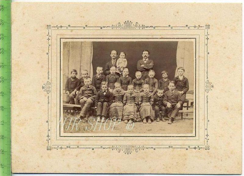 Kindergruppe, vor 1900 Gr. 12 x16 cm Format, s/w., I-II,