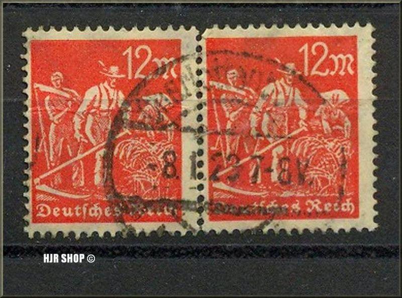 1922,Dez./1923: Arbeiter Wager. Paar, 12 M,Minr. 240, gest. 8.01.1923