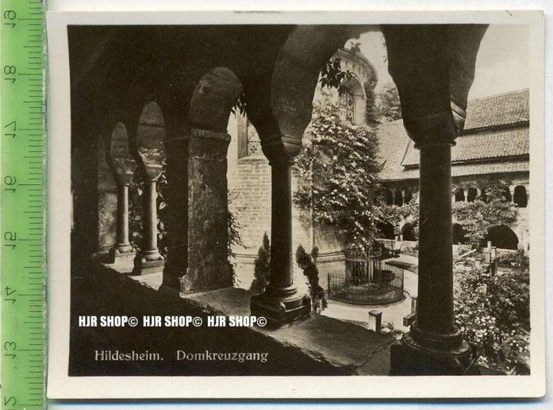 Hildesheim, ca. 1930/1940,  Sammelfoto 9,2 x 7 cm,  Domkreuzgang