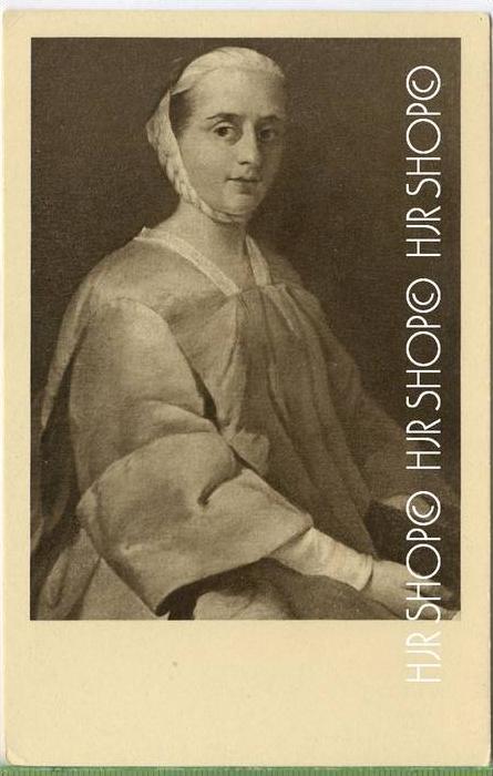 Pietro Longhi, Damenbildnis Verlag: --- POSTKARTE ,  unbenutzte Karte ,  Erhaltung: I-II Karte wird in Klarsichthülle ve
