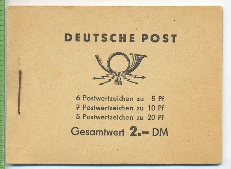 1955/1960, Fünfjahrplan, MH.- MiNr. 3 **  III 18 185 LP244161 Etwas gebraucht Spuren   Zustand: I-II