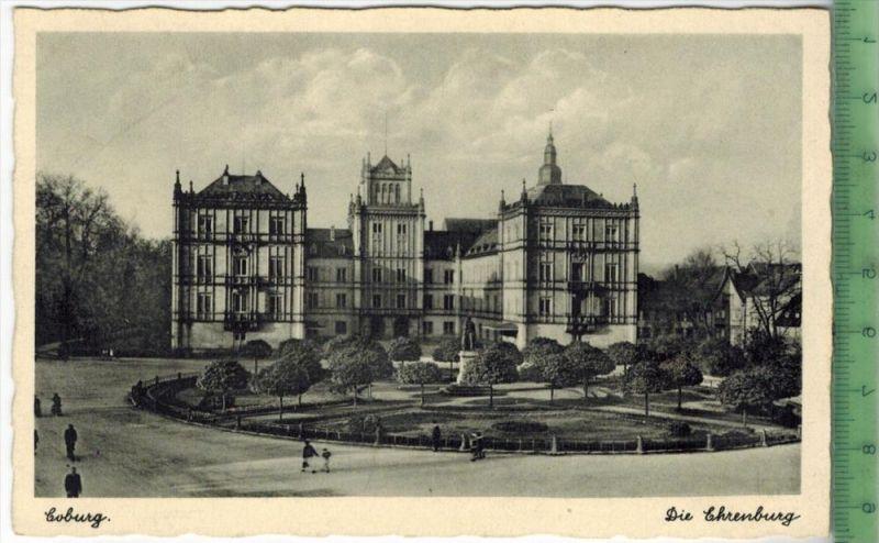 Coburg, Die Ehrenburg  um 1910/1920 Verlag: Armin Hofmann, Coburg ,  POSTKARTE Erhaltung: I-II,  Karte wird in Klarsicht