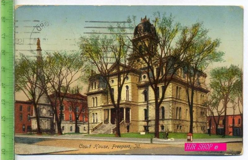 Court house, Freeport, ill. Gel.  16.09.1945