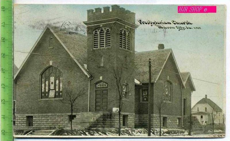 Presbyterian Church, Mason City Gel. 14.07.1909 / Mason City