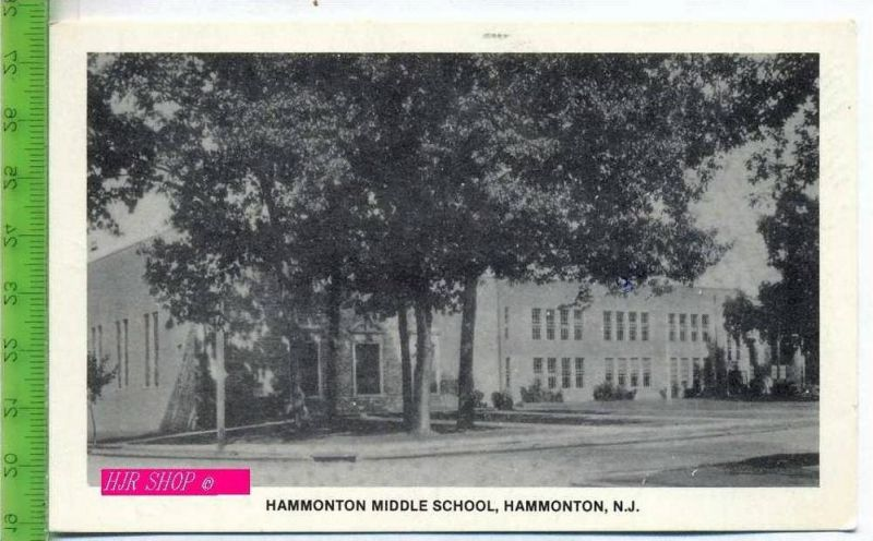 Hammonton Middle School, Hammonton, N.J. Gel. 11.10.1980 / South Jersey.NJ.