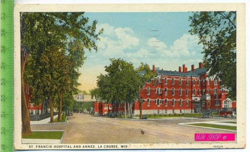 St. Francis Hospital And Annex, La Crosse, Wis. Gel. 28.09.1938 / La Crosse, Wis