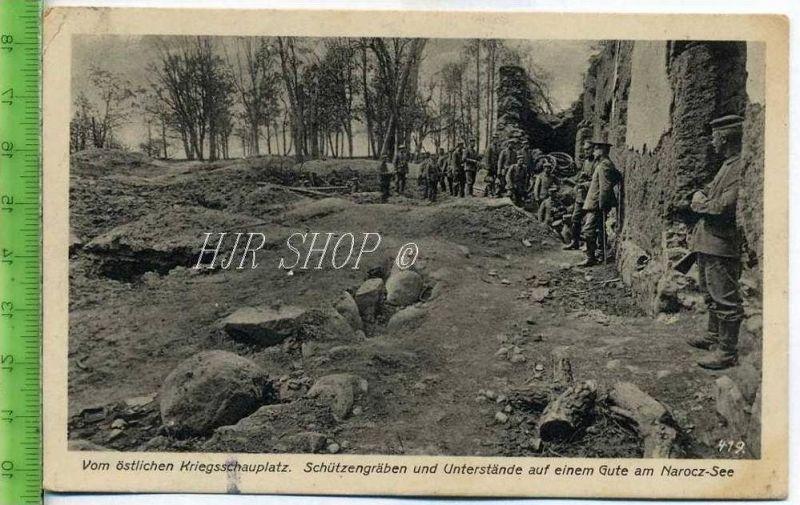 Feldpost nach Tangerhütte, vom östlichen Kriegsschauplatz Gel. 31.12.1916 / Feldpostexp.
