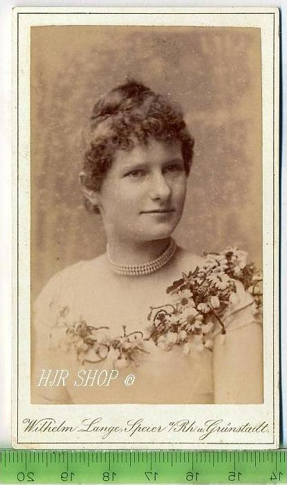 Fotographie, W. Lange, Speyer  kl. Format, s/w, I-II,