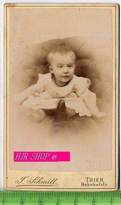 Fotographie, J. Schmitt, Trier kl. Format, s/w, I-II,