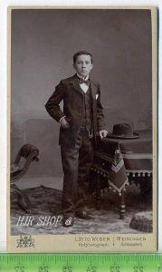 Fotographie, L. Otto Weber, Meiningen kl. Format, s/w, I-II,