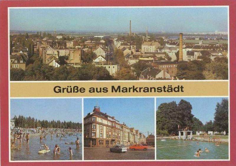 Ansichtskarte, Markranstädt