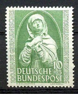1952, 9. Aug. 100 Jahre Germanisches Nationalmuseum, Nürnberg, 151**, M€ 18,--