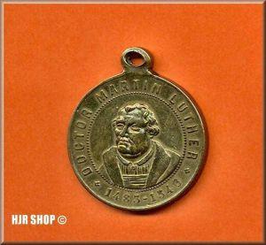 Jubiläums-Medaille, Bronze, anlässlich des 400-jährigen Lutherjubiläums 1883,