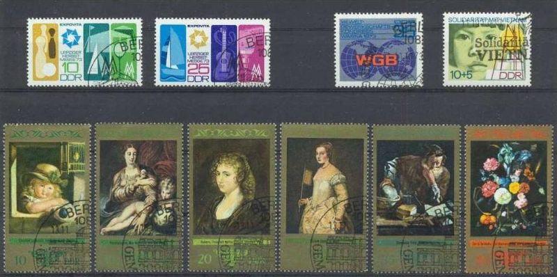 1973, Kunstsammlungen Dresden Satz 6 W 1892-97 gest.,Leipziger Herbstmesse Satz 2 W 1872,1873 gest., 1885 gest., 1884 ge
